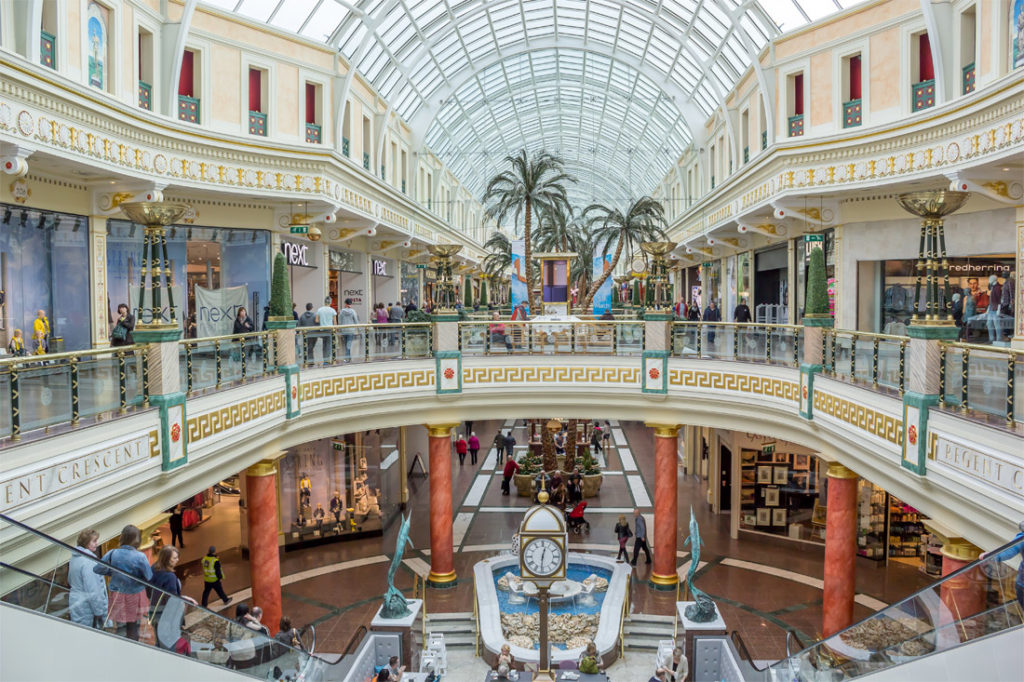 Trafford Centre shops