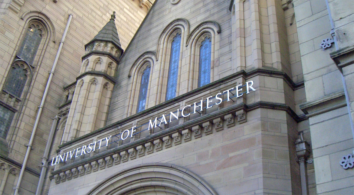 Free virtual tour of Manchester University>