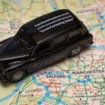 WIN a mini Manchester Taxi Tours black cab!