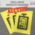 *CHARITY AUCTION* Get your hands on an EXCLUSIVE Mancsy Design with Manchester Taxi Tours