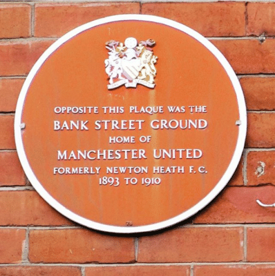 Bank Street Ground Home of Manchester United