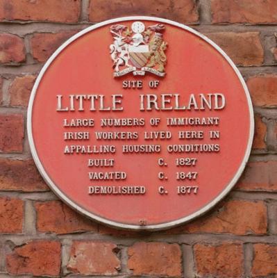 Site of Little Ireland