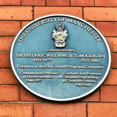 Professor Sir Frederic Williams and Professor Tom Kilburn