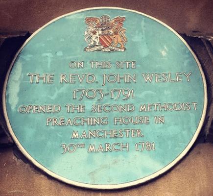 The Revd. John Wesley