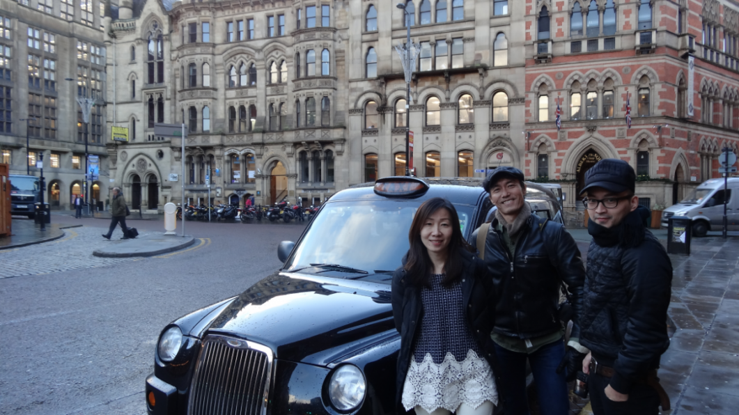 Your unique Manchester Taxi Tour